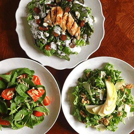 Salad Trio (vegan options)