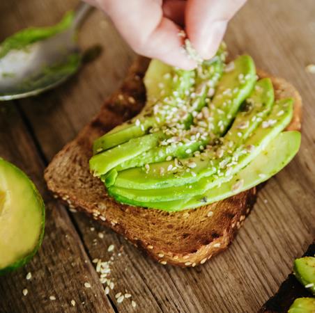 Organic Avocado Toast
